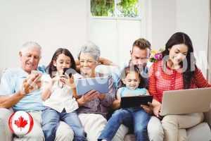 اقامت دائم کانادا برای پدر و مادر